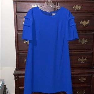 Vince Camuto Royal Blue shift dress